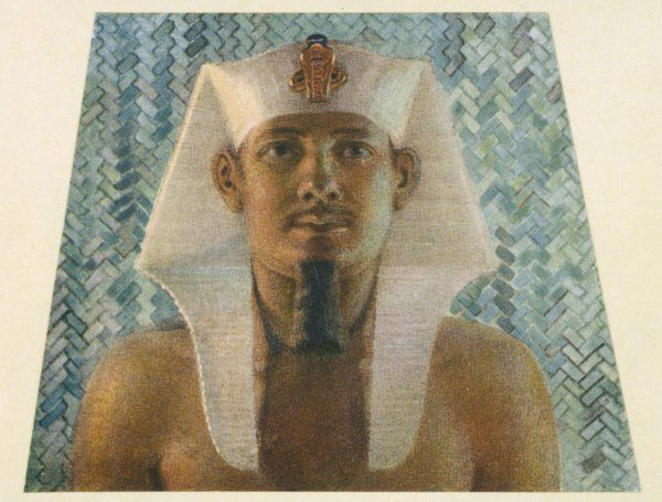 MENKAURE, PHARAOH also known as Mycerinus son of Khafre builder of the Third Pyramid of Giza