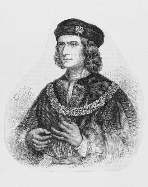 KING RICHARD III OF ENGLAND Ruled 1483 - 1485