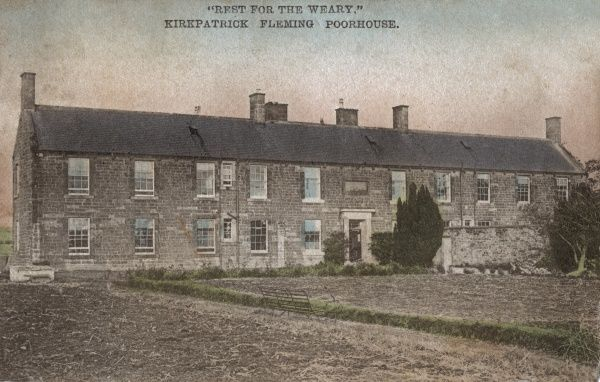 View of the Kirkpatrick Fleming Combination poorhouse, Dumfriesshire, Scotland