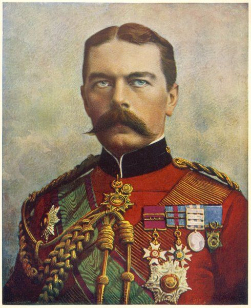 HORATIO, LORD KITCHENER 1ST EARL KITCHENER OF KHARTOUM Soldier