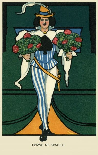 Knave of Spades. Illustrator Anon. Date: 1904