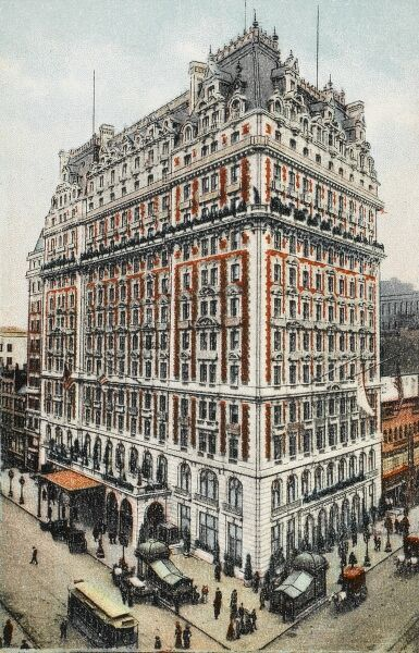 Six Times Square, also known as the Newsweek Building or Knickerbocker Building, is a building located at 1466 Broadway at the southeast corner of 42nd Street in New York City, USA. This historic building opened in 1906 as the Knickerbocker Hotel