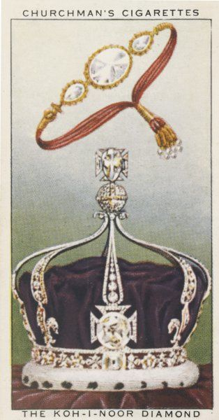 KOH-I-NOOR OR MOUNTAIN OF LIGHT Given to Queen Victoria by the East India Company after the Indian Mutiny