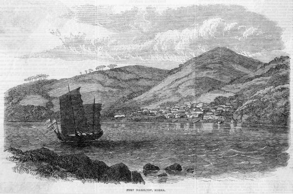 View of the harbour, formerly known (to the British, anyway) as Port Hamilton