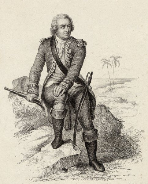 LOUIS-ANTOINE DE BOUGAINVILLE French naval, navigator, geographer
