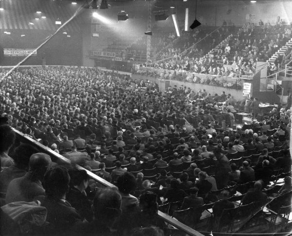 The Labour Party Conference, Brighton, Sussex, England. Date: 30 September 1957