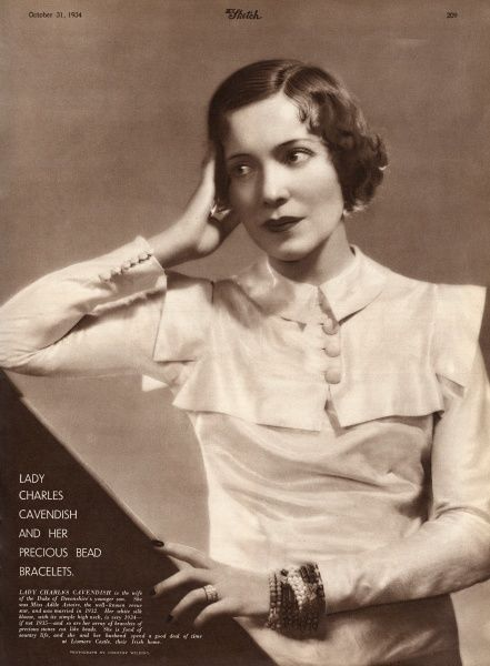 Adele Astaire (1896 - 1981) comedy actress and dance partner of her brother, Fred Astaire from childhood until 1932, when she retired from dance to marry the British aristocrat Lord Charles Spencer Cavendish, second son of the 9th Duke of Devonshire