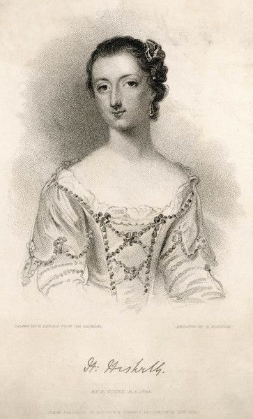 LADY HARRIET HESKETH friend of the poet William Cowper