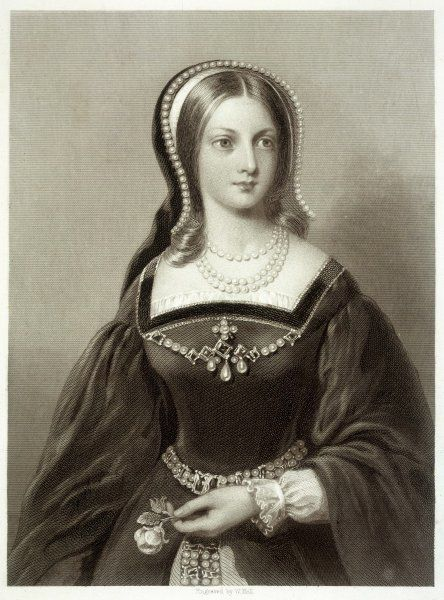 LADY JANE GREY Wife to Lord Guildford Dudley, proclaimed Queen of England, and beheaded on Tower Hill in London at the age of 18