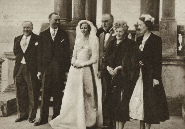 The marriage of Lady Margaret Cavendish-Bentinck, younger daughter of the Duke and Duchess of Portland, to Principe Gaetano Parente, eldest son of the late Marchese Enrico Parente and of Marchesa Maria Imperiali, took place on April 12 in the