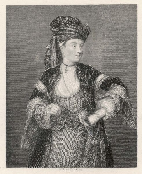 Lady Mary Wortley Montagu (1689 - 1762), Traveller in the East