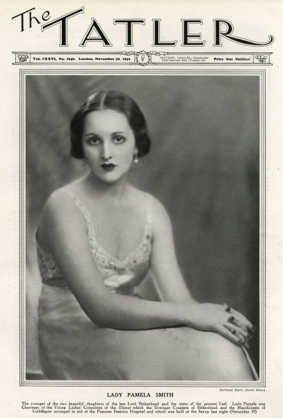 LADY PAMELA SMITH younger daughter of the 1st earl of Birkenhead. In 1936 she married Hon. William Michael Berry, Baron Hartwell, and was later styled Baroness Hartwell