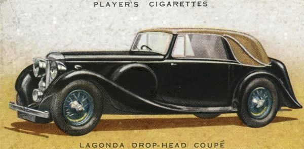 At L1125 the Lagonda drop-head coupe is a pricey buy, but for your money you get a car that has won the Le Mans, plus excellent road-holding. Date: 1936