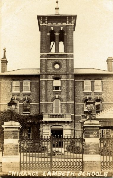 The parish of Lambeth operated a workhouse school on Elder Road, West Norwood, South London
