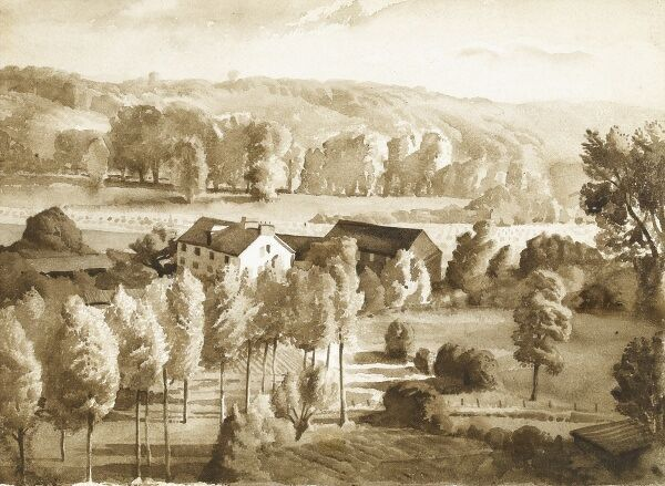 Landscape study in Watercolour by Raymond Sheppard