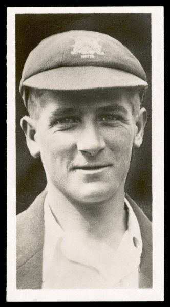 Harold Larwood, English cricketer, famous for his 'Bodyline' bowling (1904-95)