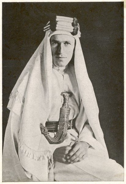 British archaeologist, soldier, intelligence officer and writer, Thomas Edward Lawrence (1888-1935), known as Lawrence of Arabia