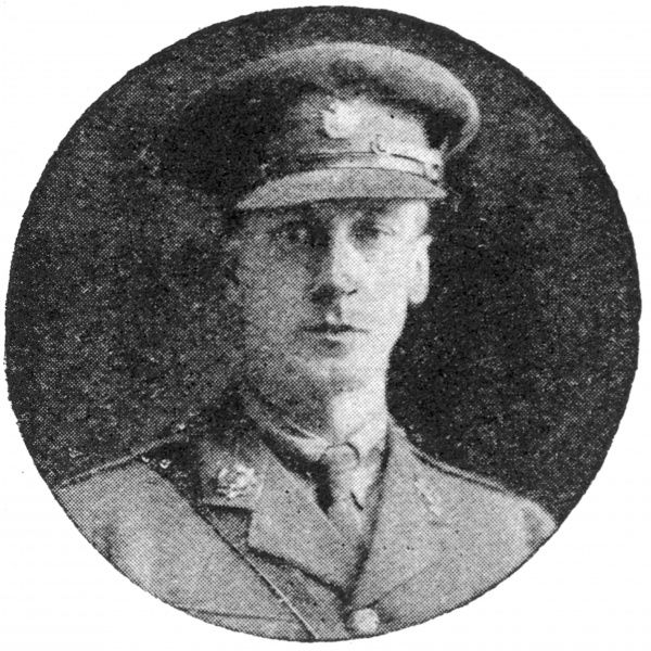 Photograph of Clarence Lawson Wood (1878-1957), successful illustrator and comic artist. Pictured in uniform during World War One when he was a balloonist with the RFC