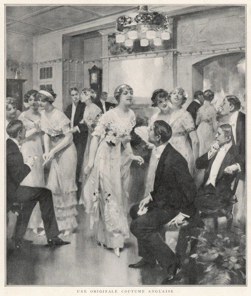 In England, during Leap Year, it is the girls who invite the men onto the dance floor, who lead them to the buffet, and then return them to their seats