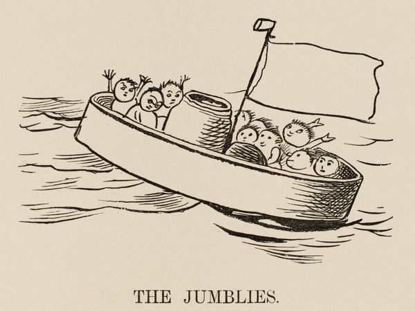 THE JUMBLIES The Jumblies go to sea in a sieve on a stormy day
