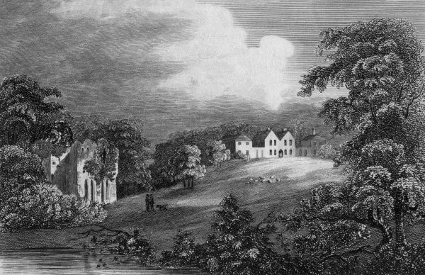 The grounds of The Leasowes, Shropshire, as they appeared during the lifetime of the late Mr Shenstone, who laid them out in the English manner (he died in 1763) Date: 1760s