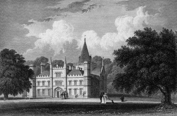 Lee Priory, at Littlebourne, near Canterbury, Kent Date: circa 1830