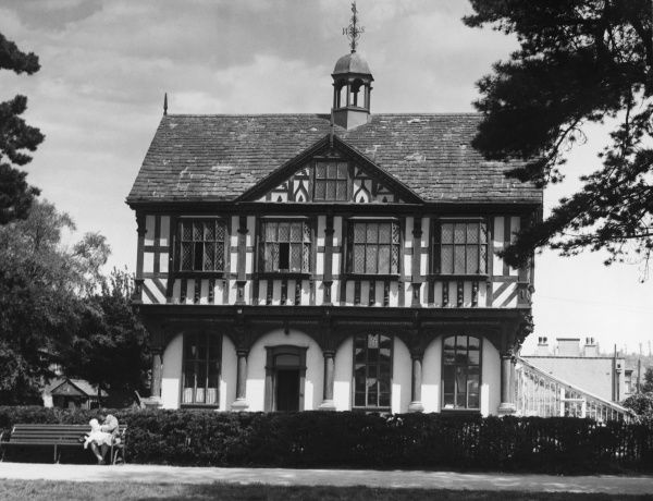 'The Grange House', Leominster, Worcestershire, England, built as a town hall in 1633 by John Abel, the 'King's Carpenter' (to King Charles I)