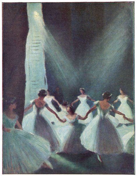 'LES SYLPHIDES' The view from the wings