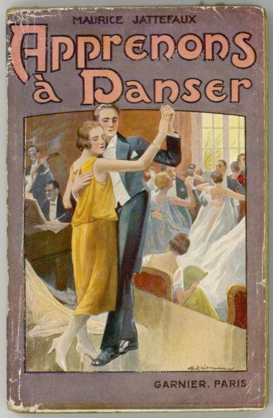 'Apprenons a danser' (Let's learn to dance) French instruction book