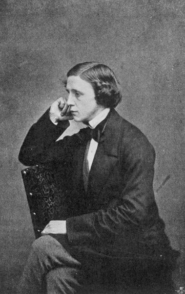 LEWIS CARROLL Real name : Charles Lutwidge Dodgson English mathematician and writer - creator of 'Alice&#39