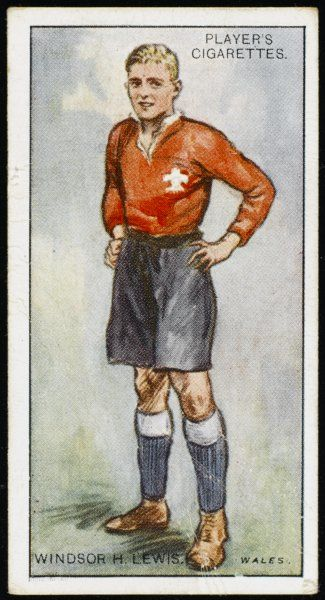 Windsor H Lewis, player for Wales