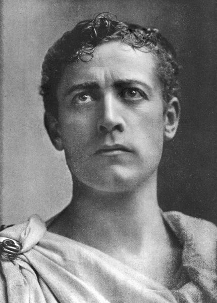 LEWIS WALLER (William Waller Lewis) English theatre actor- manager in the roll of Brutus in Shakespeare's Julius Caesar