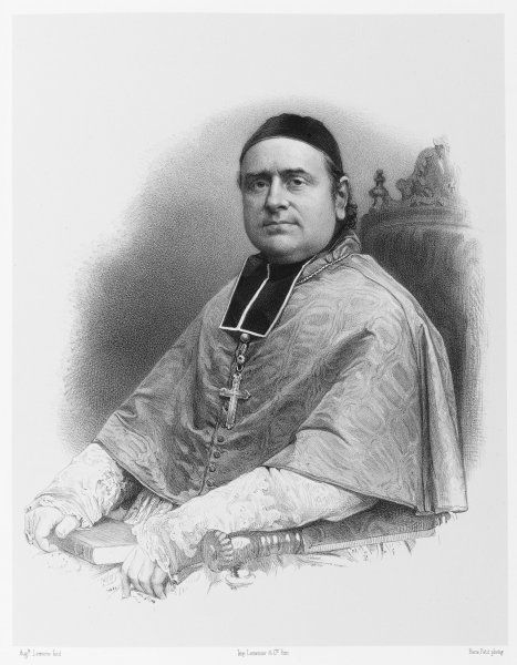 LOUIS-FRANCOIS-DESIRE- EDOUARD-PIE Bishop of Poitiers