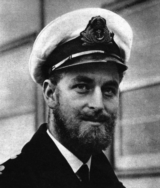 Lieutenant Philip Mountbatten, later Prince Philip, Duke of Edinburgh, pictured during the Second World War in which he saw service in the Mediterranean and with the British Pacific Fleet in the British Royal Navy. Date: 19th July 1947 p.73