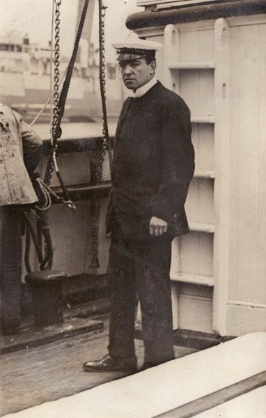 Lieutenant (Sir) Ernest Shackleton (1874-1922), Antarctic explorer