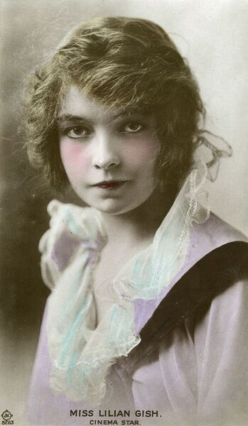 LILIAN GISH American actress of stage and film - she appeared in early silent movies Date: 1896