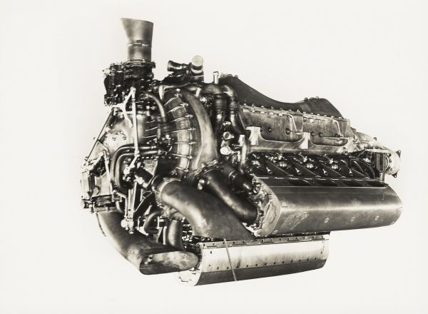 Lion VIID engine with double reduction gear Date