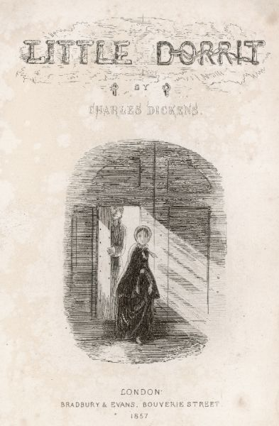 Little Dorrit appears through a doorway