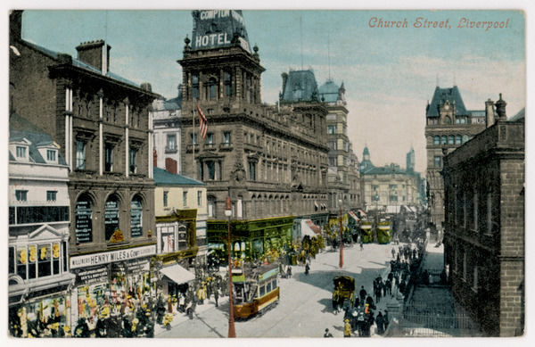 Liverpool: Church Street on a busy day