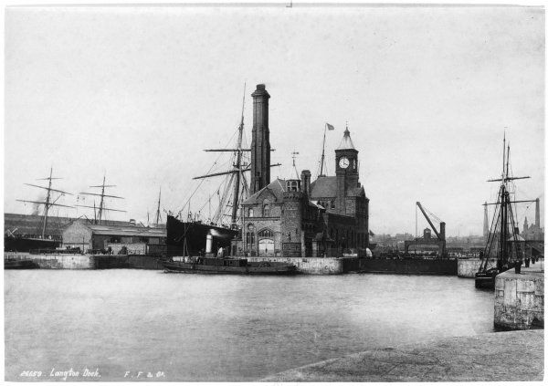 Langton dock, Liverpool