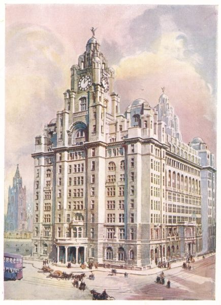 Liverpool: Royal Liver Building