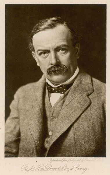 DAVID LLOYD GEORGE Welsh statesman
