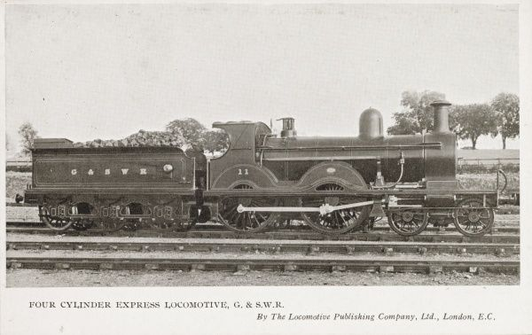 Locomotive no 11 four cylinder express Date