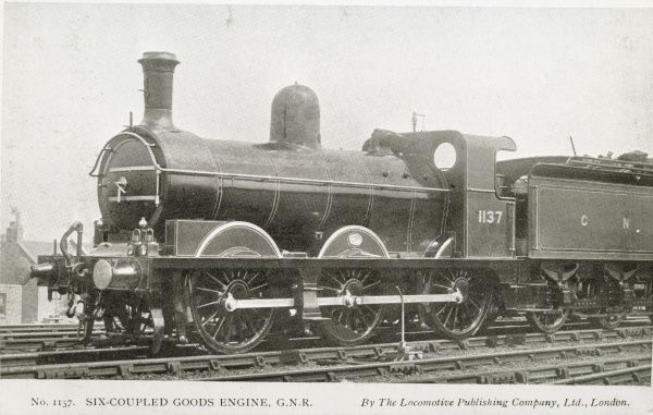 Locomotive no 1137 0-6-0 goods engine Date