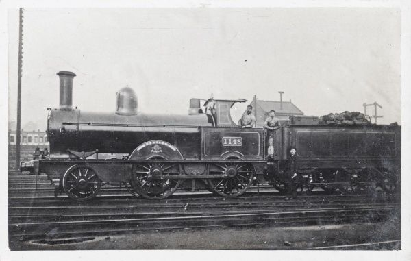Locomotive no 1148 'Boadicea' built in 1878 for the L&NWR Date: 1878