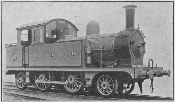 Locomotive no 1300 2-4-2 Date