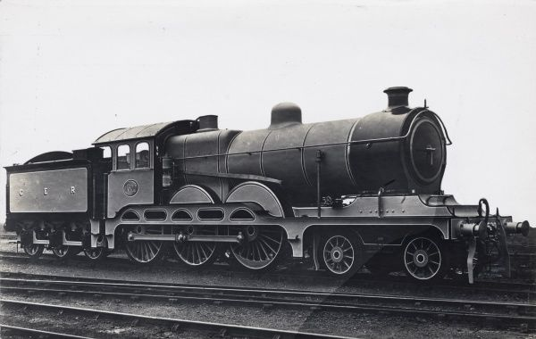 Locomotive no 1500 4-6-0 Date