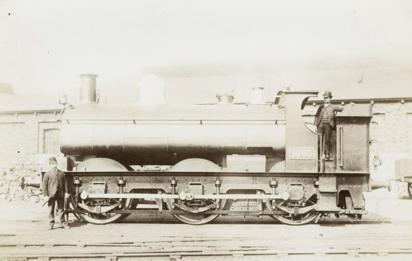 Locomotive no 1695 0-6-0 engine Date