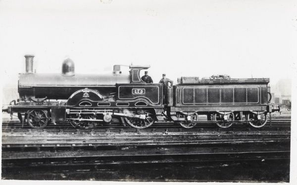 Locomotive no 173 'City of Manchester built in 1886 for L&NWR Date: 1886