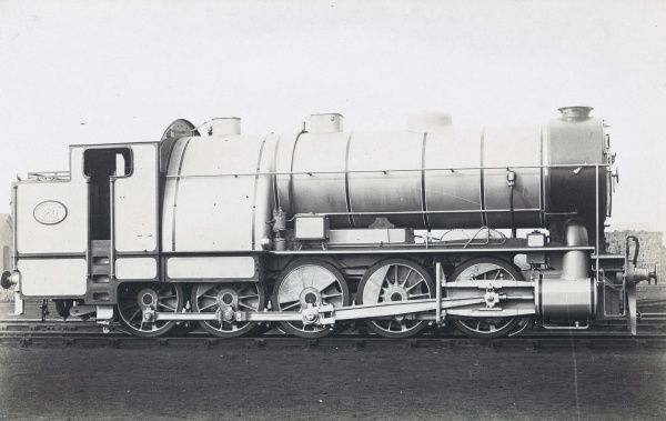 Locomotive no 20 GER Decapod 0-10-0 Date